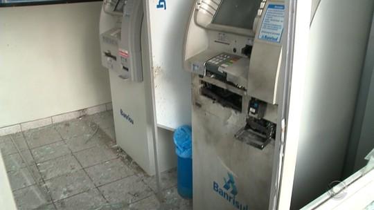 Agências bancárias são arrombadas com explosivos na Região Central e na Serra do RS