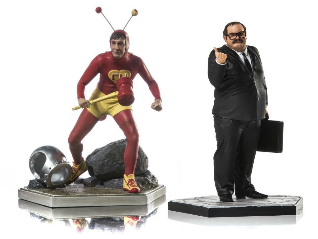 """Novos bonecos da coleção """"Chaves"""", da Iron Studios (Foto: Iron Studios)"""