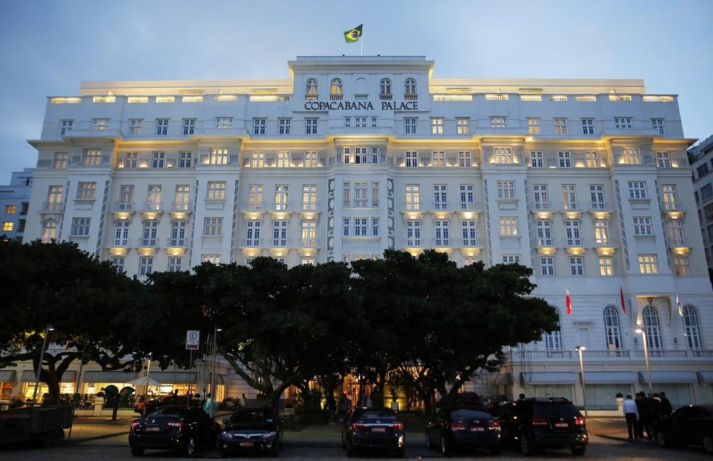 Icônico Copacabana Palace, o mais tradicional do Rio de Janeiro, foi comprado pelo grupo Louis Vuitton — Foto: Marcos Serra Lima/ G1