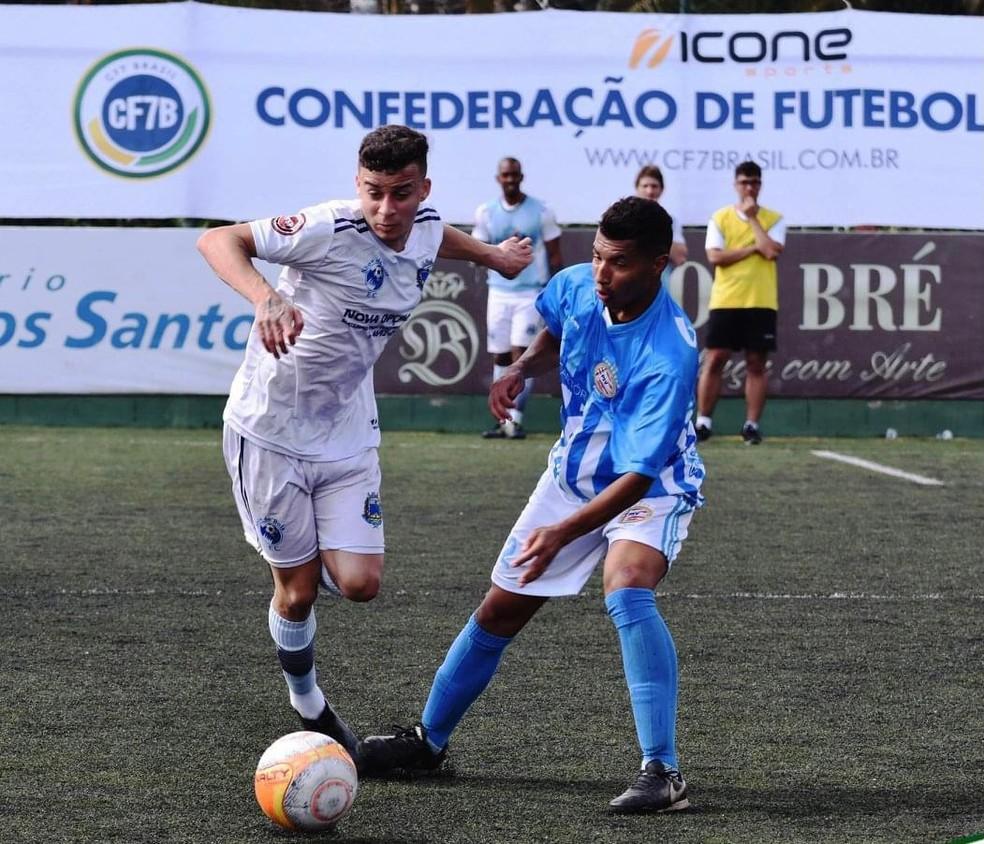 O Ceilândia-DF foi o campeão do Brasileirão de Fut 7 do ano passado — Foto: Divulgação