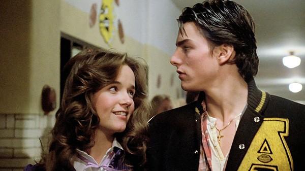 Lea Thompson e Tom Cruise em 'A Chance' (1983) (Foto: Divulgação)