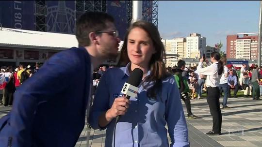 Mulheres são vítimas de assédio de torcedores brasileiros na Rússia