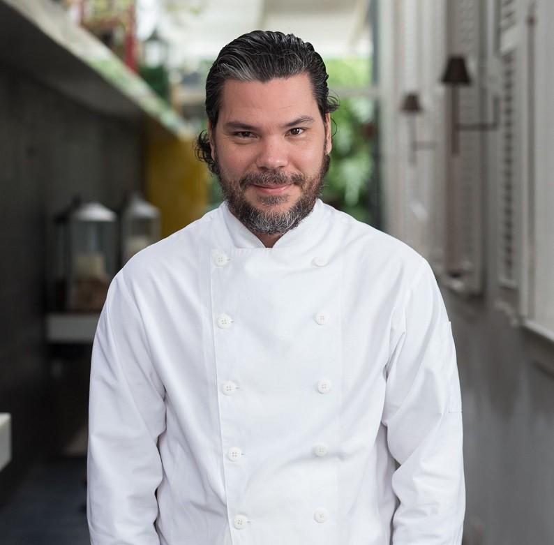 O chef Pedro de Artagão