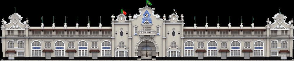 Fachada de São Januário será preservada na reforma do estádio do Vasco — Foto: ge