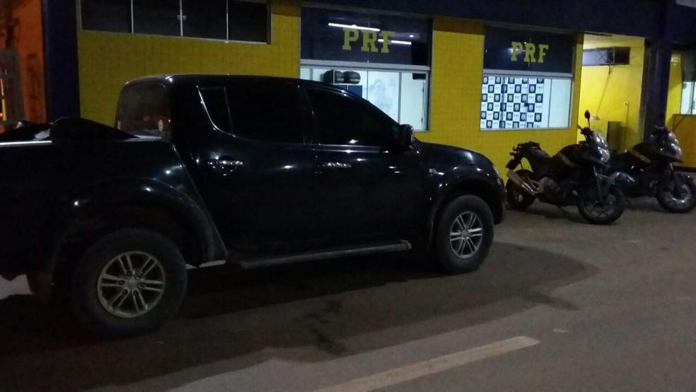 Operação aconteceu na zona rural de Vilhena (Foto: PRF/Divulgação)