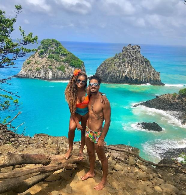 Jeniffer Nascimento e Jean Amorim (Foto: Reprodução/Instagram)