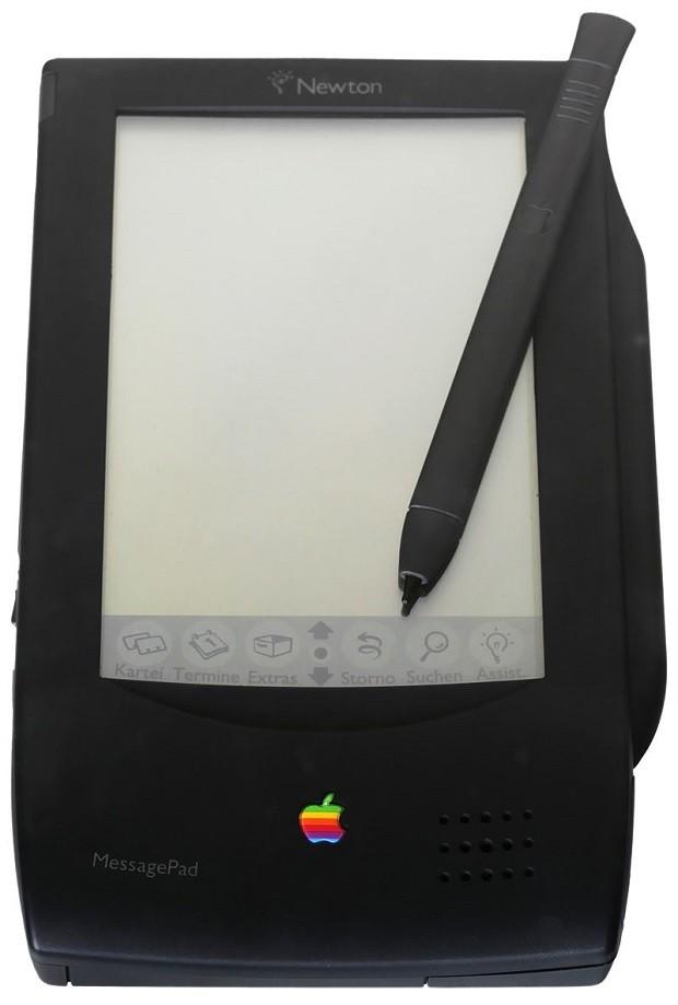 MessagePad 100, da Apple, o primeiro com o sistema operacional Newton (Foto: Wikimedia Commons)