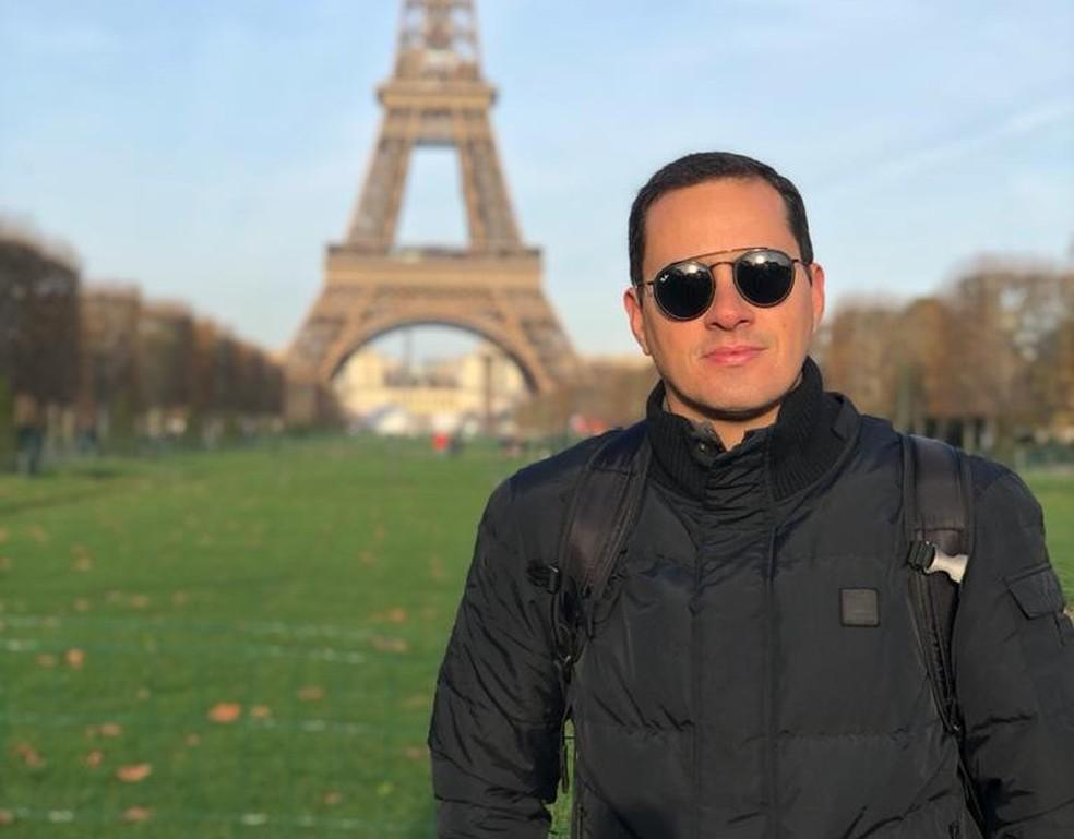 Érico Campos, engenheiro civil graduado pela Unifor. — Foto: Arquivo pessoal