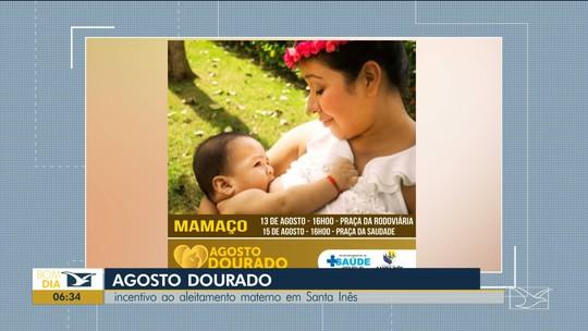 Campanha incentiva aleitamento materno no Maranhão