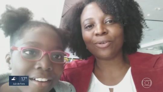 Mãe reencontra filha sequestrada pelo pai na Nigéria após cinco meses