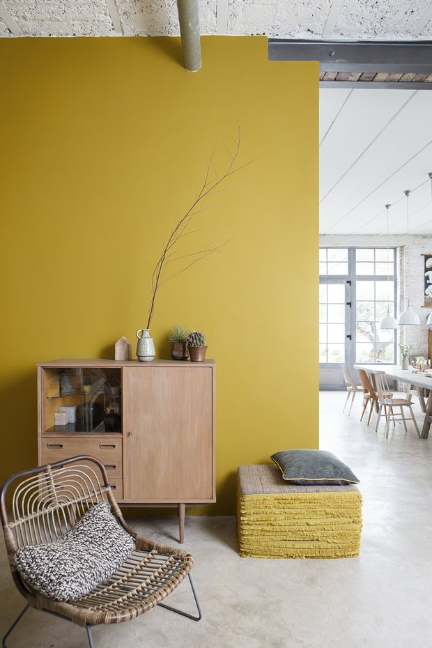 Amarelo na decoração (Foto: Reprodução/Divulgação)