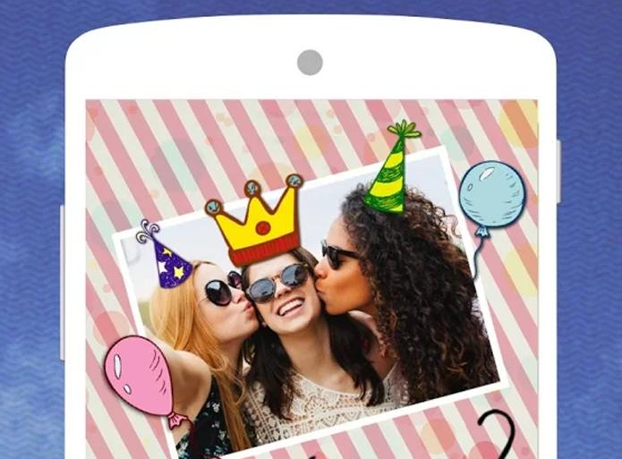 Pic Collage, app de montagens de fotos, permite criar imagens divertidas (Foto: Foto: Divulgação)