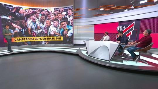 """No Seleção, Luiz Carlos Jr. diz que Athlético-PR assumiu """"outro patamar no futebol brasileiro"""""""