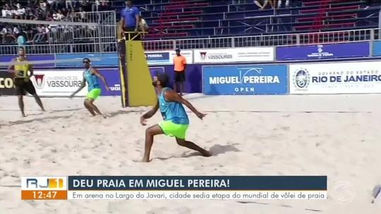 Miguel Pereira sedia etapa do mundial de vôlei de praia
