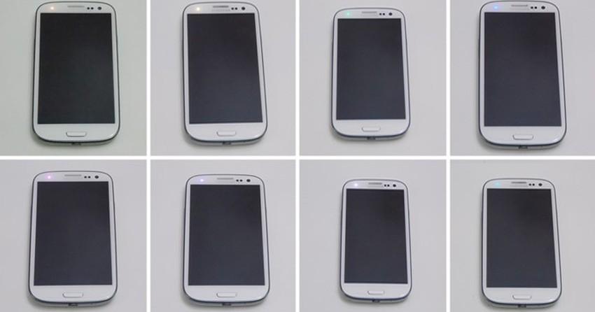 Como alterar a cor das notificações do LED do Galaxy S3?