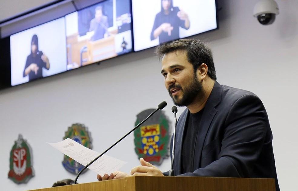 Presidente da Câmara de Itupeva morreu de Covid aos 37 anos — Foto: Divulgação