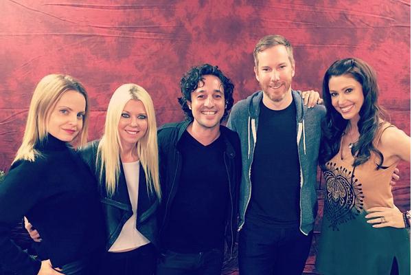 Parte do elenco de American Pie (1999) reunido em uma convenção nos EUA (Foto: Instagram)