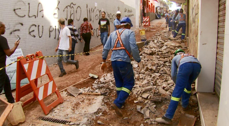 Início de segunda etapa das obras de revitalização do Centro de Varginha é adiado - Noticias