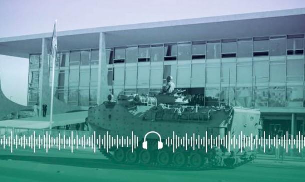 Esplanada dos Ministérios recebeu veículos militares, como tanques de guerra e carros com armamentos