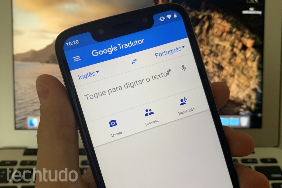 Google Tradutor libera recurso de tradução instantânea; saiba usar — Foto: Helito Beggiora/TechTudo