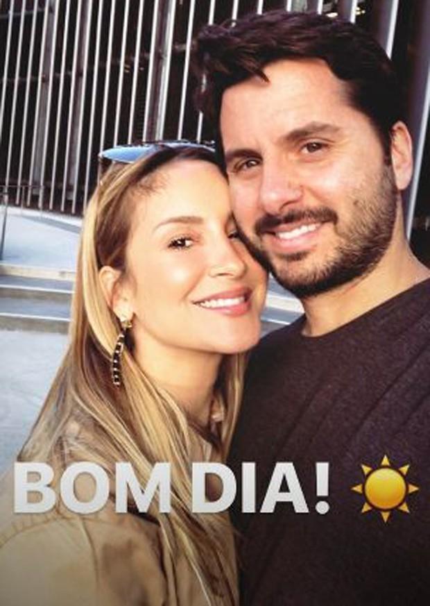 Claudia Leitte e o marido, Márcio Pedreira (Foto: Reprodução/Instagram)
