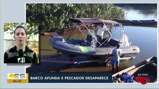 Pescadores desaparecem no mar de Regência, em Linhares