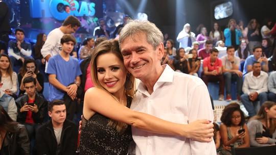 Sandy relembra momentos especiais ao lado de Serginho Groisman