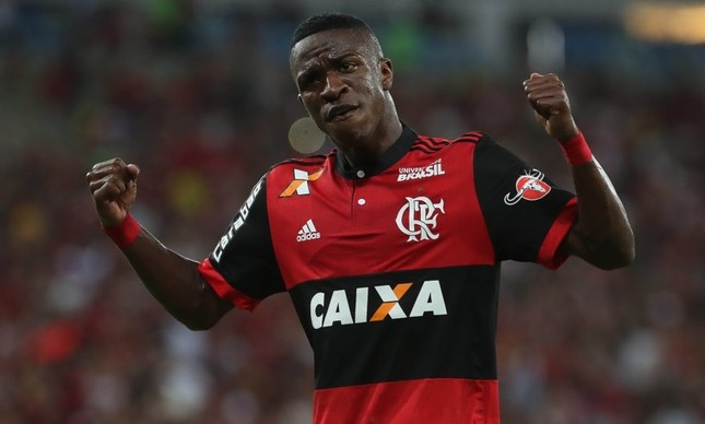 Vinicius Júnior, do Flamengo
