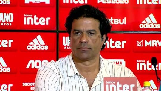 """Lugano diz que Arboleda com camisa do Palmeiras foi """"ingenuidade e burrice"""""""