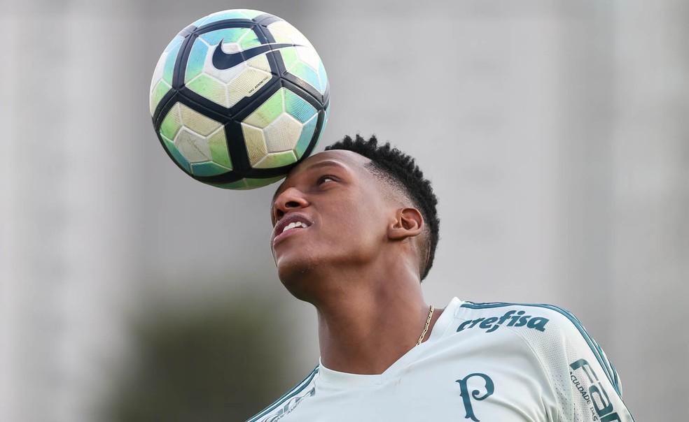 Barcelona tem prioridade na compra do zagueiro colombiano (Foto: Ag. Palmeiras/Divulgação)