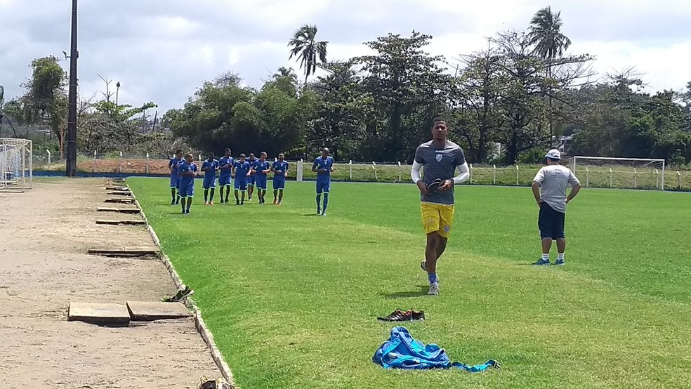 CSA planeja preparação no CT do Mutange, casa do clube (Foto: Raissa Matias/GloboEsporte.com)