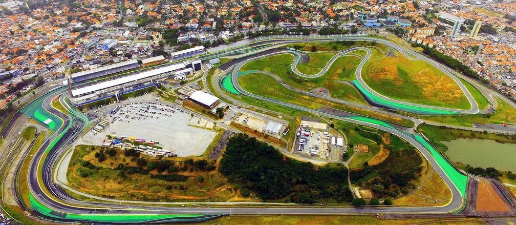 Autódromo de Interlagos, na Zona Sul de SP, é cenário do GP Brasil de Fórmula 1 — Foto: Luis Moura/Estadão Conteúdo