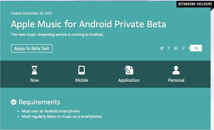 Convite para beta é feito de forma exclusiva pelo Betabound (Foto: Reprodução/Betabound)