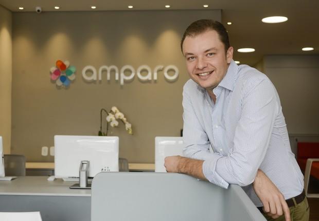 Emílio Puschmann, cofundador e CEO da Amparo saúde diz que a startup pretende captar R$ 20 milhões nos próximos 12 meses (Foto: Divulgação)