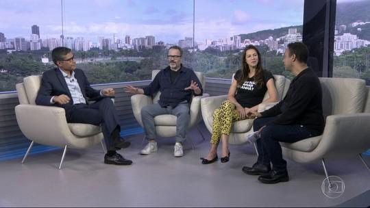 Entrevista com Luana Piovani e Leonardo Medeiros