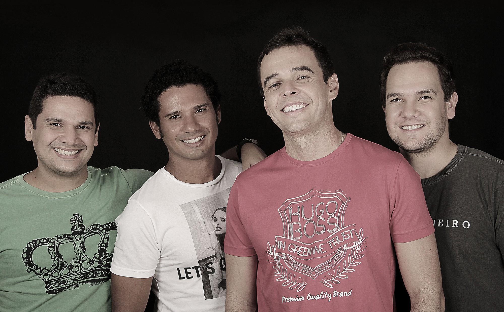 Grupo Quarteto Linha faz show em Ponta Negra neste sábado (29)