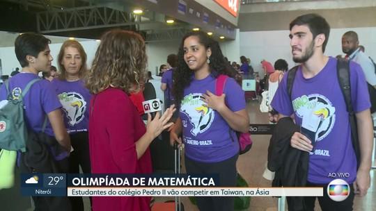 Estudantes do Pedro II vão para Olimpíada de Matemática na Ásia