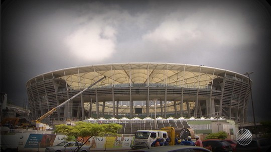 'Operação Cartão Vermelho': PF investiga superfaturamento nas obras da Arena Fonte Nova