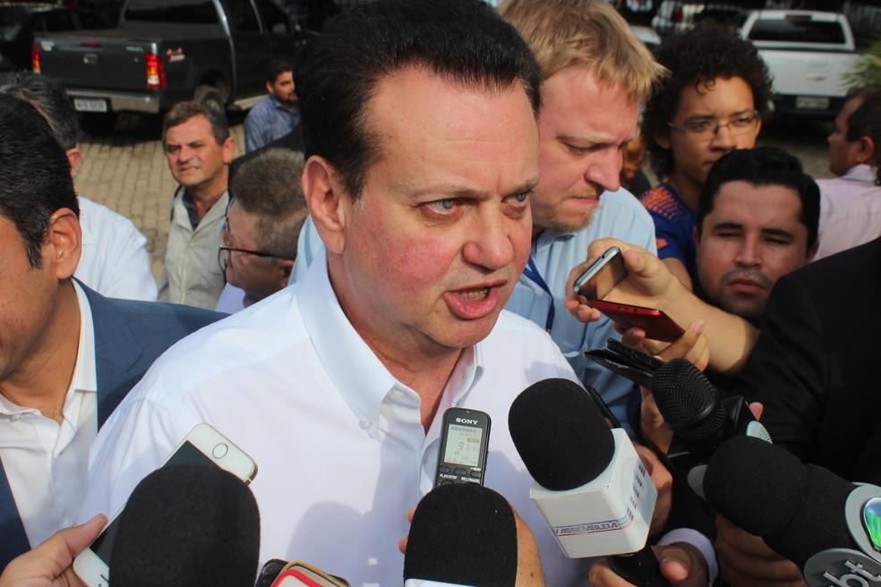 Ministro da Ciência e Tecnologia, Gilberto Kassab, afirma que decisão sobre privatização dos Correios ficará para o próximo governo (Foto: Lucas Marreiros / G1)