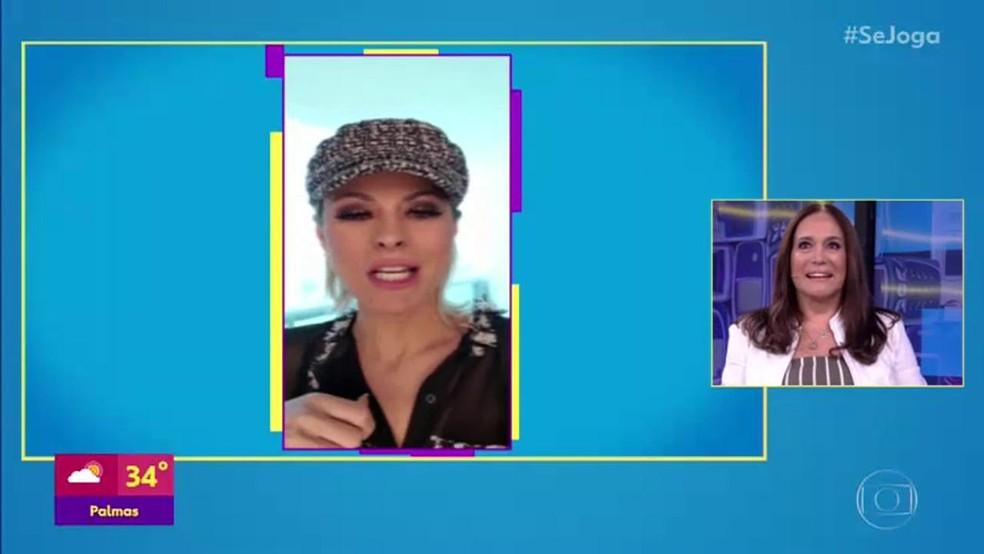 Susana Viera fala de parceria com sua nora  — Foto: TV Globo