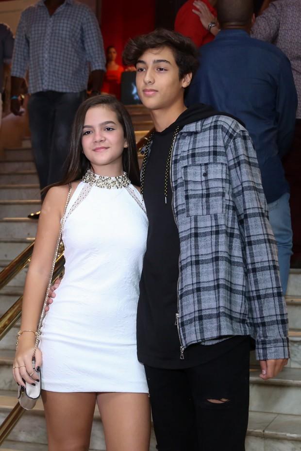 Mel Maia e Erick Andreas (Foto: Roberto Filho / BrazilNews)