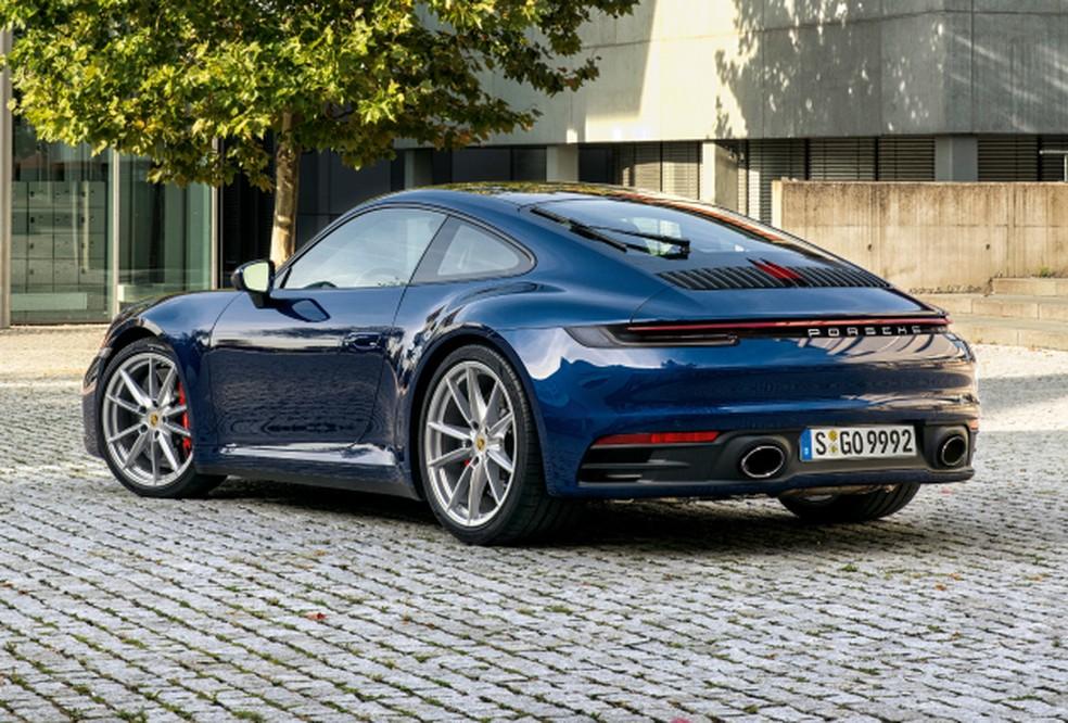 Porsche 911 — Foto: Divulgação/Porsche