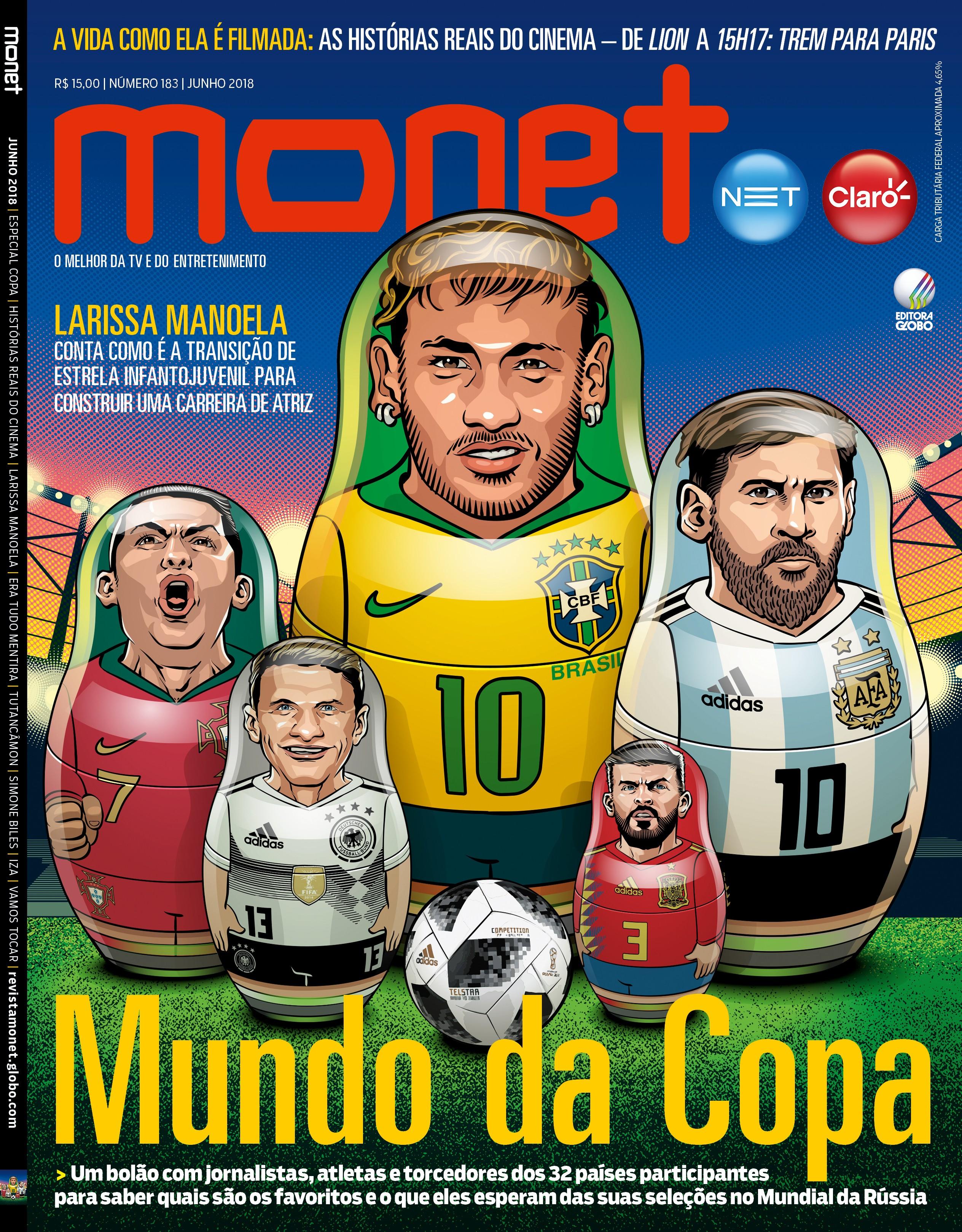 Revista Monet - Edição 183 - Junho/2018 (Foto: Revista Monet)