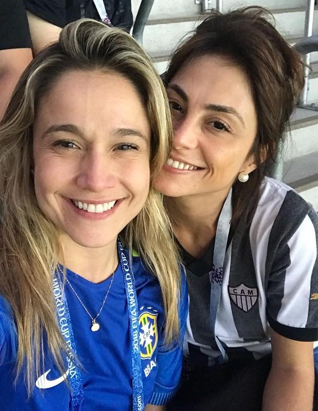 Fernanda Gentil e Priscila Montandon (Foto: Reprodução)