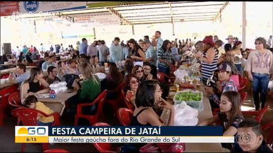 Festa Campeira de Jataí se encarra com costelão gaúcho