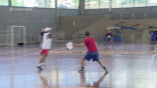 Santos recebe competição de tamburello, a versão europeia do tamboréu