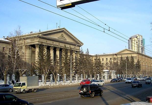 Novosibirsk, capital da Sibéria, na Rússia (Foto: Wikimedia Commons)