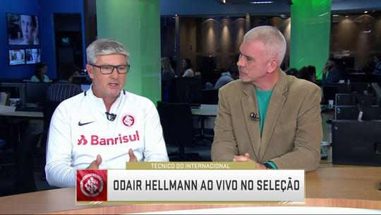 Odair Hellmann fala sobre momento do Internacional do Campeonato Brasileiro