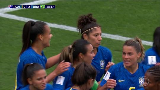 Gol de Cristiane é eleito o mais Bonito da Copa do Mundo feminina