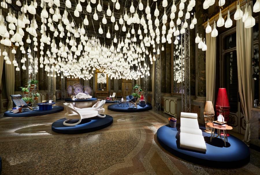 Em instalação impressionante, Louis Vuitton apresenta nova linha de móveis e decoração do projeto Objets Nomades (Foto: Divulgação)